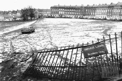 Drama at the Royal Crescent 9 Feb 1996