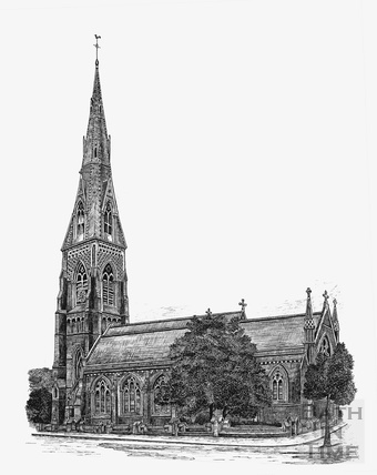 St Andrews Church, Julian Road c.1940