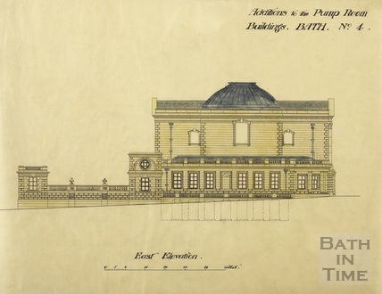 Additions to the Pump Room buildings, no.4 - east elevation - [Brydon] ?[1894]