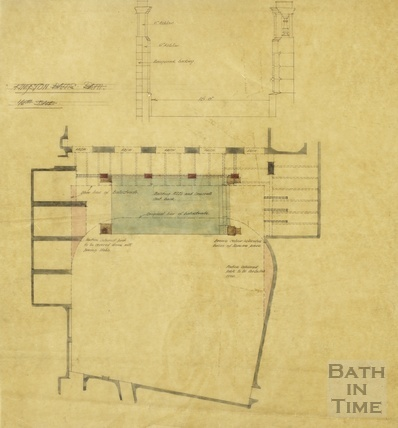 Kingston Baths - plan 1910s