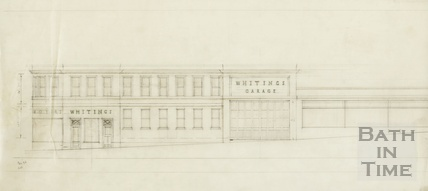 Whiting's Garage Barton Street - elevation - AJ Taylor 1939