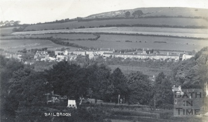 Distant view of Bailbrook , c.1910