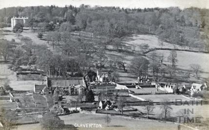 View of Claverton and Claverton Manor c.1910