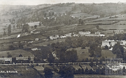Distant view of Bailbrook House and Bailbrook, c.1910