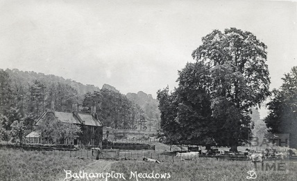 Farm and Bathampton Meadows, Bathampton c.1910