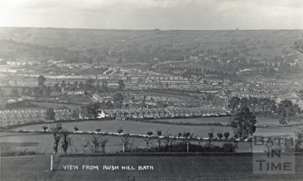 View from Odd Down, Bath c.1910