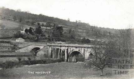 Dundas Aqueduct, Monkton Combe c.1920