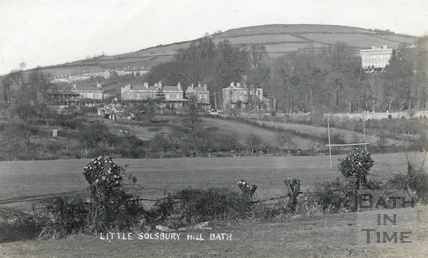 Little Solsbury Hill, Bath c.1910