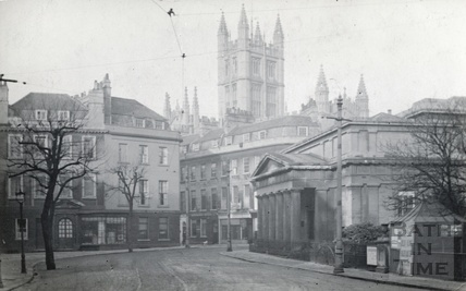 The Royal Literature and Scientific Institute, Terrace Walk, Bath c.1910
