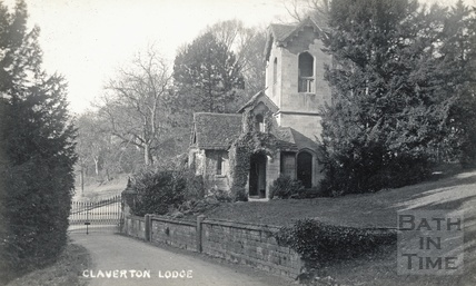 Claverton Lodge, at the Entrance to Claverton Manor, Claverton Hill c.1910
