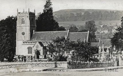 St Nicholas Church, Bathampton c.1910