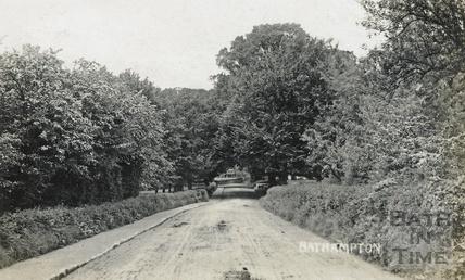 Mill Lane, Bathampton, posted 1908