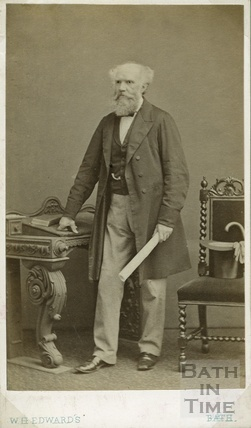 Portrait of Alderman Jerom Murch, Mayor of Bath 1892