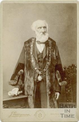 Portrait of Alderman Jerom Murch, Mayor of Bath 1892