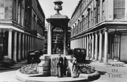 The mineral fountain, Bath Street, c.1960s