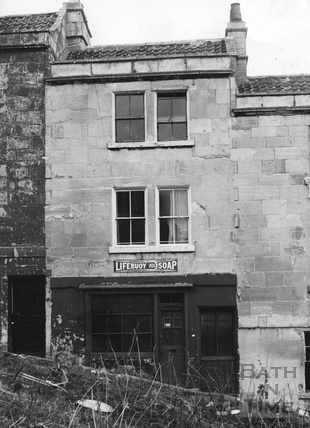 No 8 Gays Hill, Bath 1964