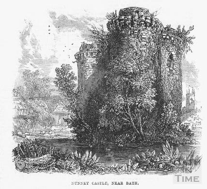 Nunney Castle 1864