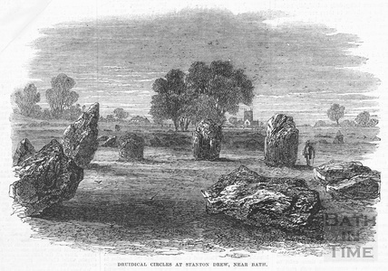 Druidical Circles at Stanton Drew, 1864