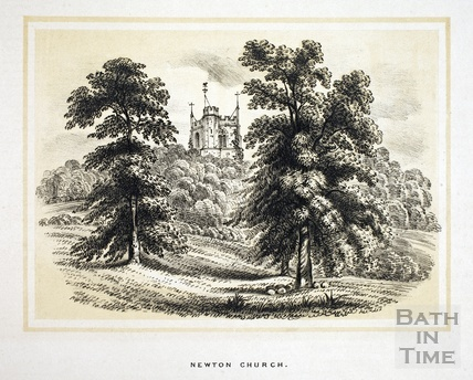 Newton Church, Newton St Loe 1853