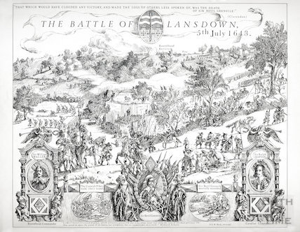 The Battle of Lansdown, Bath 5th July 1643