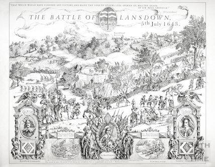 The Battle of Lansdown, Bath 5th July 1643