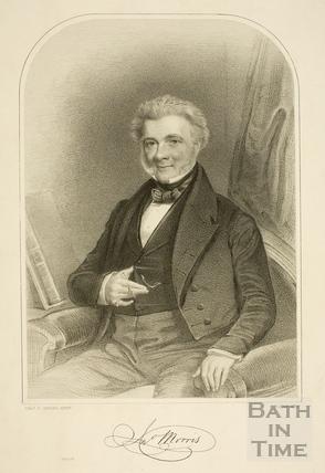 Portrait of John Morris