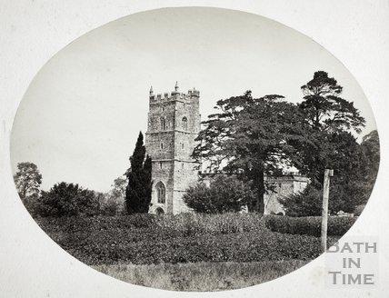 Portbury Church near Bristol c.1855