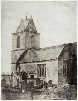 Church of St. James, South Wraxall c.1850