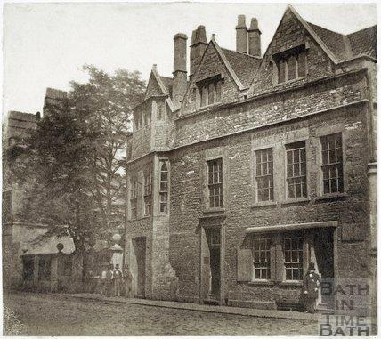 Abbey Church House, Westgate Buildings, Bath c.1855