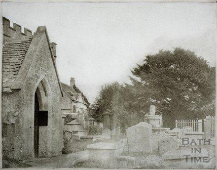 Churchyard, Newton St. Loe c.1850