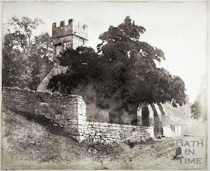 Charlcombe Church c.1855