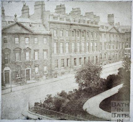Queen Square, Bath 1849
