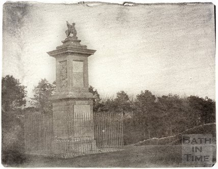 Sir Bevil Grenville's Monument, Lansdown, Bath c.1860