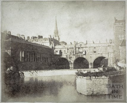 Pulteney Bridge and Weir, Bath c.1850