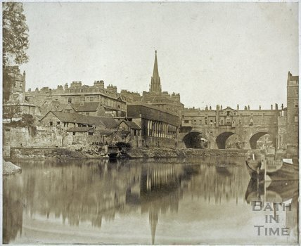 Pulteney Bridge, Bath c.1855
