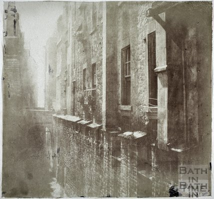 City walls, Lot Lane, Bath 1849