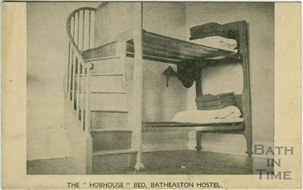 The Hobhouse Bed, Batheaston Youth Hostel
