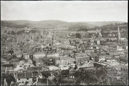 Bath from Beechen Cliff c.1890