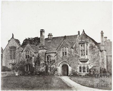 North elevation, Great Chalfield Manor c.1858