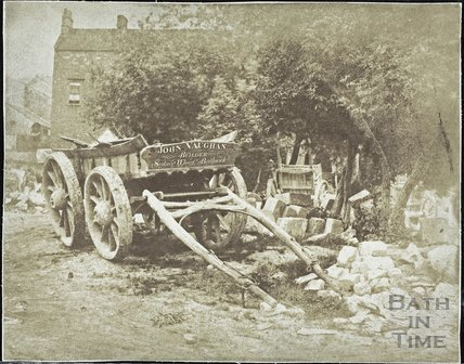 Wagon, Sydney Wharf, Bathwick, Bath c.1857