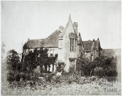 North east view, Great Chalfield Manor c.1858