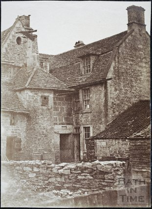 Rear View of Eagle Farmhouse, Northend, Batheaston
