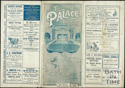 The Macnaghten Vaudeville Circuit, Palace Theatre, Bath 1906