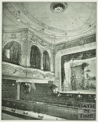 The Lyric Theatre or Varieties, Sawclose, Bath 1897