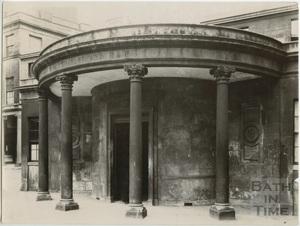 Portico, Cross Bath, Bath c.1903