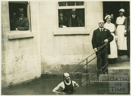 Opening of the reconstructed Old Royal Baths (Hot Bath), Bath 1927
