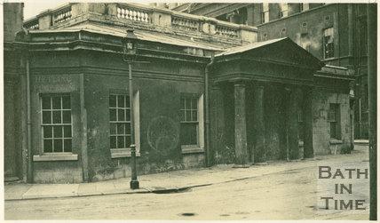 View of entrance, Hot Bath, Bath