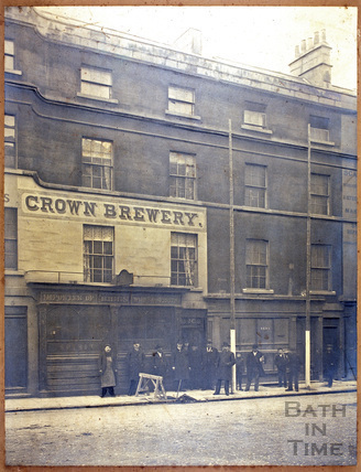The Crown Brewery, 3 & 4, New Orchard Street, Bath c.1900