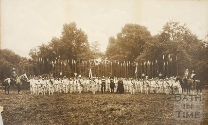 Bath Pageant. Episode VI 1909