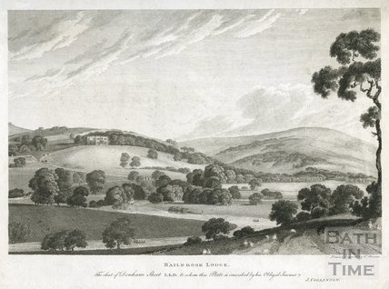 Bailbrook Lodge. The Seat of Denham Skeet LLD c.1786
